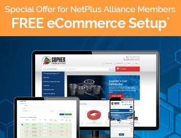 Free eCommerce Setup for NetPlus Alliance Members