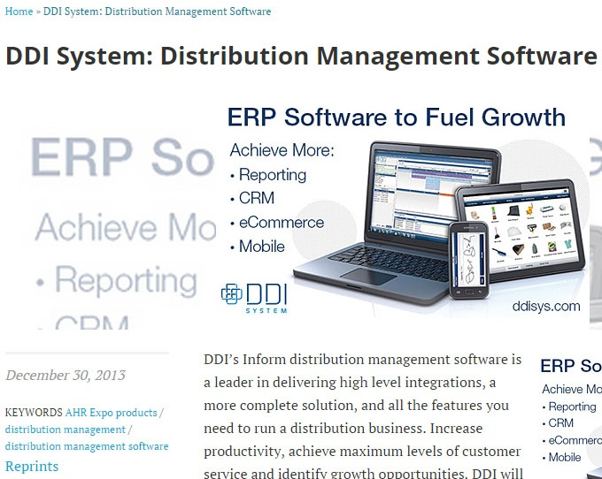 DDI System and MITS partner to deliver reporting and business intelligence to distributors
