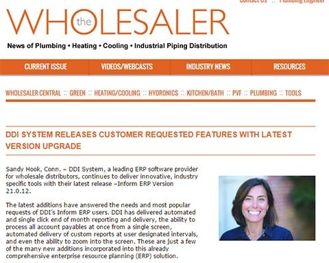 DDI System releases upgrade - The Wholesaler
