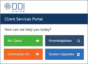 Extensive Client Services Portal for Inform ERP