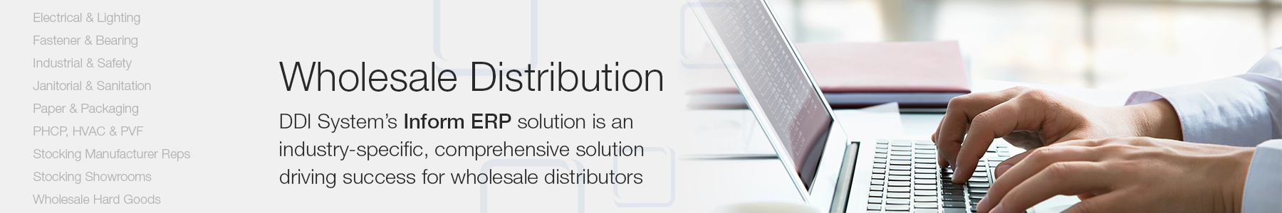 ERP for Wholesale industries